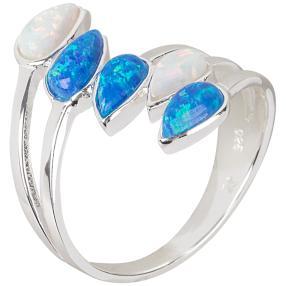 Ring 925 Sterling Silber Opal Doublette