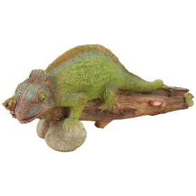 Dekofigur Chamäleon, grün