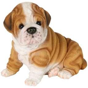 Dekofigur Welpe Bulldogge