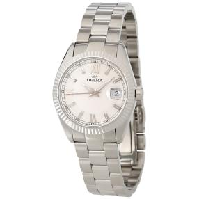 "DELMA ""Sea Star Ladies"" Damenuhr Quarz weiss"