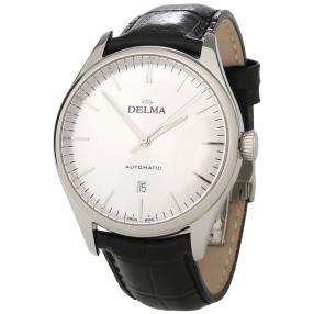 """DELMA """"Heritage Automatic"""" Herrenuhr silbern"""