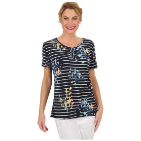"Damen-Ringelshirt ""Happy Stripes"" multicolor"