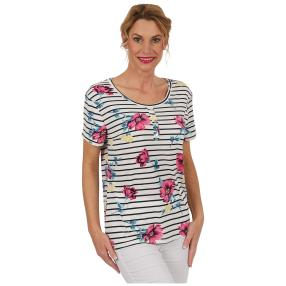 "Damen-Ringelshirt ""On Board"" multicolor"