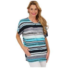 """Damen-Ringelshirt """"Stripe my Day"""" multicolor"""