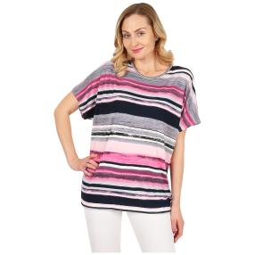 "Damen-Ringelshirt ""Stripe my Day""  multicolor"