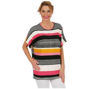 "Damen-Ringelshirt ""Lovely Stripe"" multicolor"