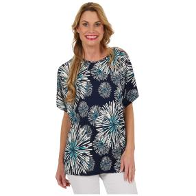"Damen-Shirt ""Hello Spring"" multicolor"
