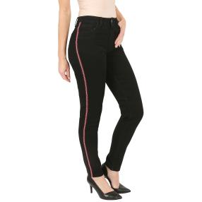 "Jet-Line Damen-Jeans ""Sporty Black"" black"
