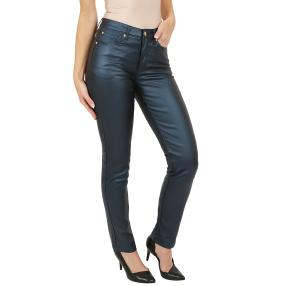 "Jet-Line Damen-Hose ""Blue Gloss"" blue metallic"