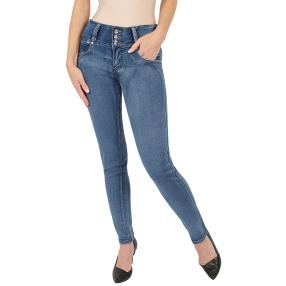 "Jet-Line Damen-Jeans ""Perfect Blue"" blue"