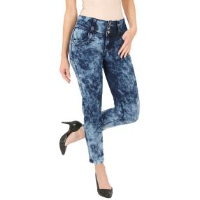 "Jet-Line Damen-Jeans ""Lovely Moon"" blue moon"