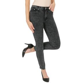 "Jet-Line Damen-Jeans ""Darling Rocky"" black washed"