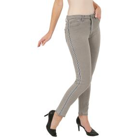 "Jet-Line Damen-Jeans ""Sporty Grey"" light grey"