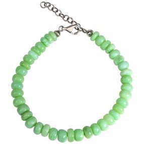 Armband 925 Sterling Silber Opal grün