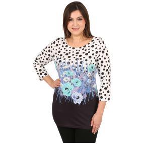 """BRILLIANTSHIRTS Damenshirt """"Happy Dots"""" multicolor"""