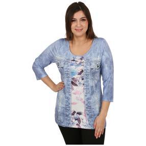 "BRILLIANTSHIRTS Damenshirt ""Bonny Blue"" multicolor"