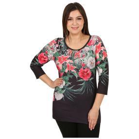 "BRILLIANT SHIRTS Damenshirt ""Exotic Glow"" multi"