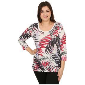 "BRILLIANTSHIRTS Damenshirt ""Tropical Flirt"" multi"