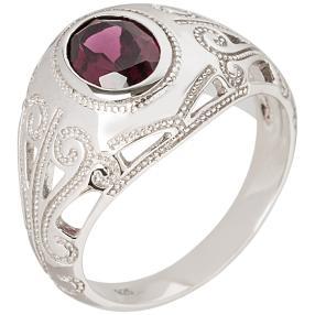 Ring 925 Sterling Silber Rhodolit