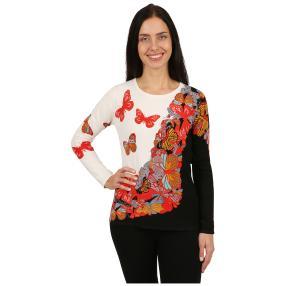 """IMAGINI Damen-Pullover """"Farfalle"""" multicolor"""