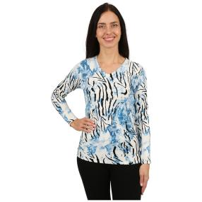 "IMAGINI Damen-Pullover ""Modena"" blau"
