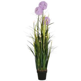LED-Alliumstrauch 127cm lila