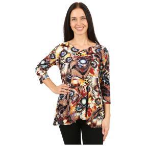 IMAGINI Damen-Shirt 'Merano' multicolor