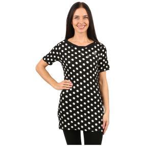 IMAGINI Damen-Shirt 'Trapani' schwarz/weiß