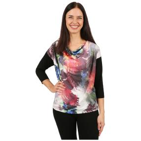 IMAGINI Damen-Shirt 'Teramo' multicolor