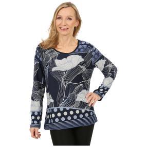 Damen-Pullover 'Salamanca' marine/blau