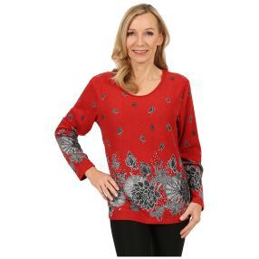 Damen-Pullover 'Toledo' schwarz/grau