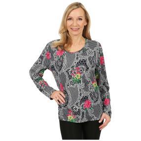 Damen-Pullover 'Oviedo' marine/pink