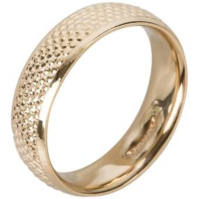 Ring 585 Gelbgold, diamantiert