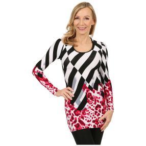 IMAGINI Damen-Longshirt 'Canzo' multicolor