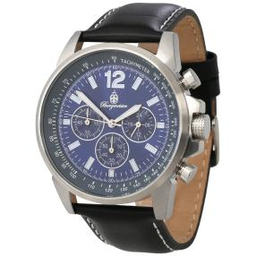 "Burgmeister Herren-Chronograph ""Washington"" blau"
