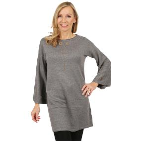 Damen-Pullover 'Pretty Lady' grau