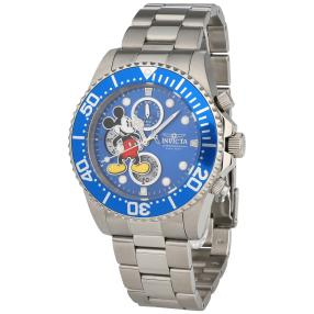 "INVICTA Chronograph ""Disney"" blau"