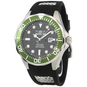 "INVICTA Herrenuhr ""Pro Diver"" Carbon Zifferblatt"
