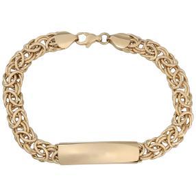 Königsarmband + Element 585 Gelbgold
