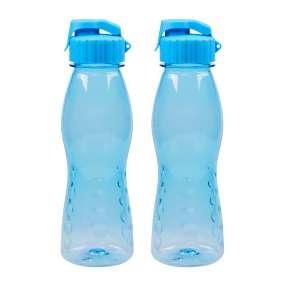 Trinkflasche FLIP TOP 2er Set, blau
