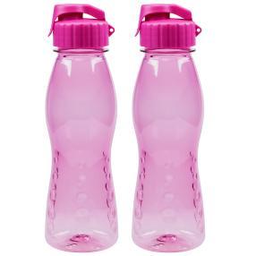 Trinkflasche FLIP TOP 2er Set, pink