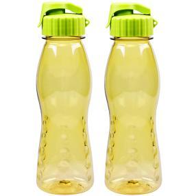 Trinkflasche FLIP TOP 2er Set, gelb