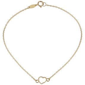 Ankerarmband 750 Gelbgold