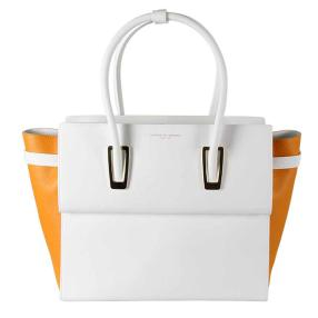 Porsche Design Twice Bag weiß apricot