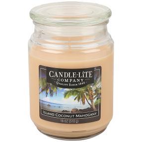 """Candle-Lite Duftkerze """"Kokosnuss"""", hellbraun"""