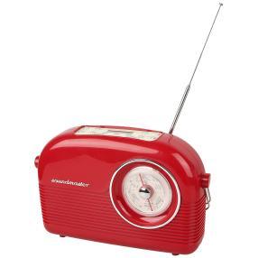 DAB-Retro Radio, rot