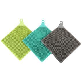 CLEANmaxx Silikon Spültücher 3 teilig