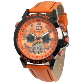"Calvaneo ""Astonia Projekt Orange"" Herrenuhr"