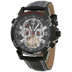 "Calvaneo Herrenuhr ""Astonia Skull Edition"""