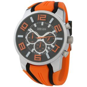 "NAUTEC Herrenuhr ""Flowter"" orange"